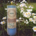 Chamomile Pillar Candle