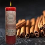 Cinnamon Pillar Candle