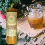 Honey Pillar Candle